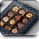 Box Of Chocolates Mock-up - GraphicRiver Item for Sale