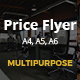 Multipurpose Price Flyer - GraphicRiver Item for Sale