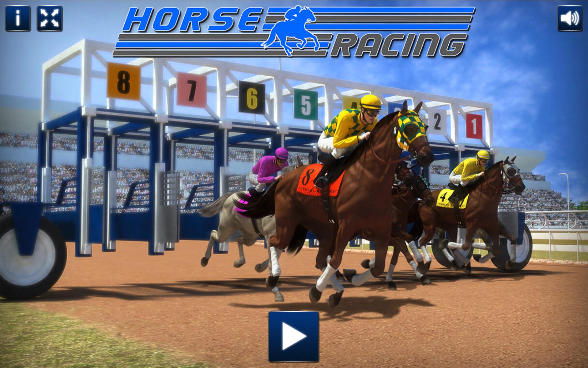 Horse Racing - HTML5 Casino Game
