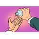 Man Hand Pours Out Pills - GraphicRiver Item for Sale