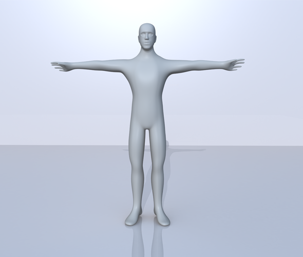 Low Poly 3D Male Character Model - 3DOcean Item for Sale