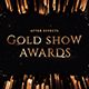 Gold Show Awards - VideoHive Item for Sale