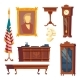 Vector Collection - White House Oval Office - GraphicRiver Item for Sale