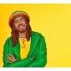 Vector Pop Art Rastafarian with Dreadlocks - GraphicRiver Item for Sale