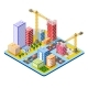 Module Isometric City of Houses - GraphicRiver Item for Sale