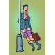 Drunk Man with No Pants - GraphicRiver Item for Sale
