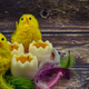 Easter decorative composition in vintage style - PhotoDune Item for Sale