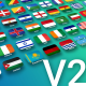 199 Animated Flag Icons - VideoHive Item for Sale