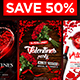 Valentines Flyers Bundle - GraphicRiver Item for Sale