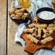 Baked Eggplant Fries with sauce - PhotoDune Item for Sale