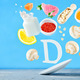 Flying foods rich in vitamin d - PhotoDune Item for Sale