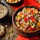 Moroccan chickpeas barley pistachio salad - PhotoDune Item for Sale
