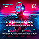 Synthwave Retro Party Flyer - GraphicRiver Item for Sale