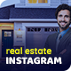 Real Estate Instagram Post and Stories