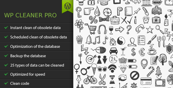 WP Cleaner Pro - CodeCanyon Item for Sale