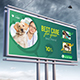 Pet Clinic Billboard - GraphicRiver Item for Sale