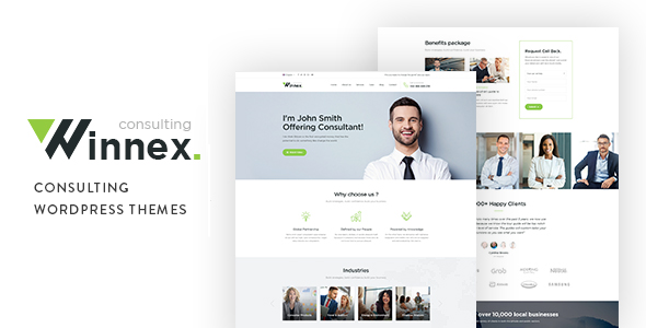 Winnex - Business Consulting WordPress Themes - Business Corporate