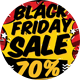 Black Friday Sale PostCard - GraphicRiver Item for Sale