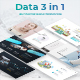 Data 3 in 1 Bundle - Creative Keynote Template - GraphicRiver Item for Sale