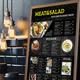 2019 A3 Restaurant Menu Vol 01 - GraphicRiver Item for Sale