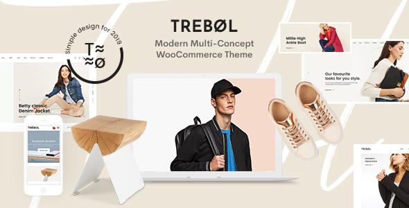 Trebol - Minimal & Modern Multi-Concept WooCommerce Theme