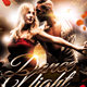 Dance Night Event Flyer - GraphicRiver Item for Sale