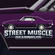 Muscle Car Logo Template - GraphicRiver Item for Sale