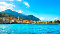 Menaggio town, Como Lake district landscape. Italy, Europe. - PhotoDune Item for Sale