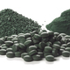 Spirulina flakes, powder and tablets - PhotoDune Item for Sale