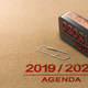 Agenda Or Schedule From Year 2019 To 2020 - PhotoDune Item for Sale