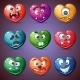 Set Valentine Hearts - GraphicRiver Item for Sale