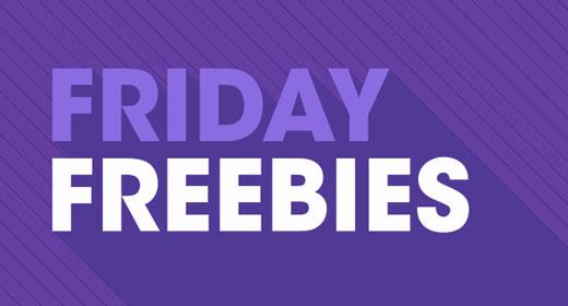 Friday Freebies - January 11th 2019