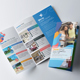 Travel & Hotel booking Trifold Brochure - GraphicRiver Item for Sale