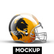 Football Halmet Mockup - GraphicRiver Item for Sale