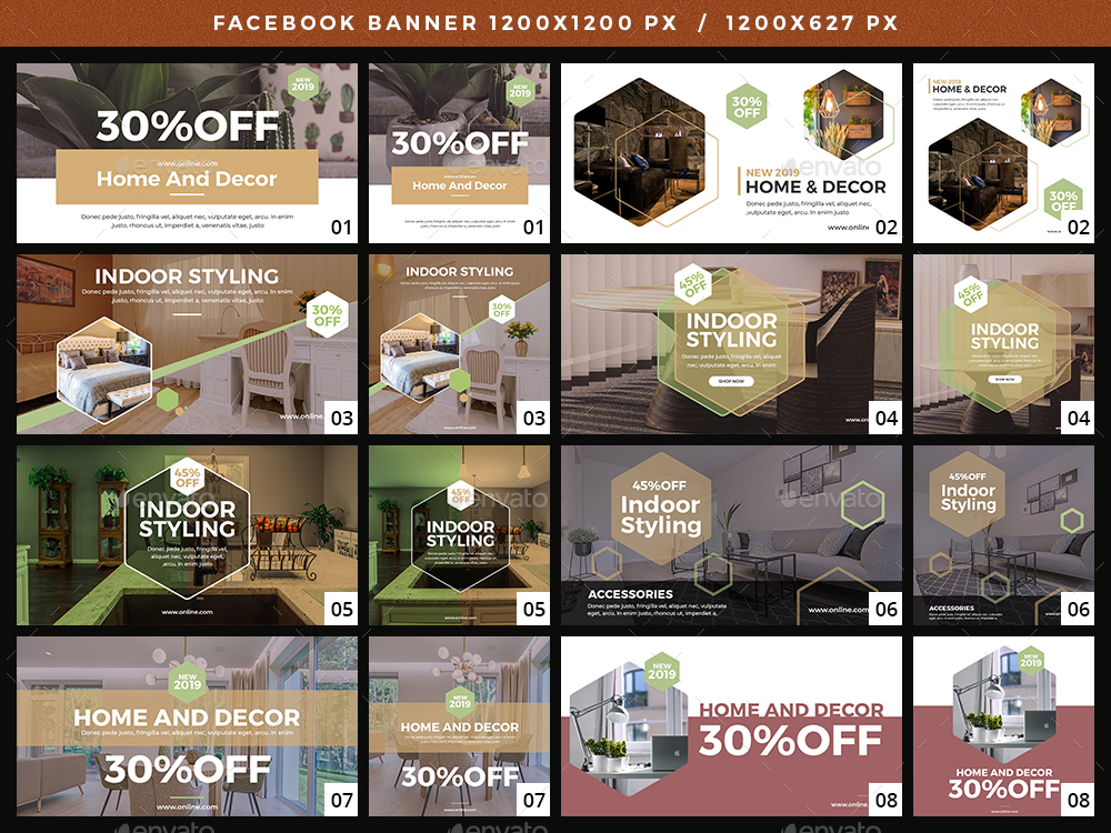 Facebook - Home And Decor Banners