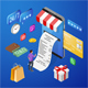 Internet Shopping Online Payments Isometric Concept - GraphicRiver Item for Sale