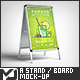 A Stand / Board Mock-Up - GraphicRiver Item for Sale