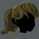 Hair 02 - 3DOcean Item for Sale