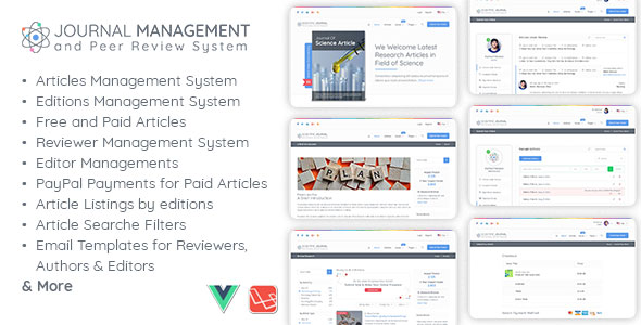 Journal Management and Peer Review System - CodeCanyon Item for Sale