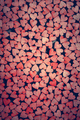 Tiny red hearts on dark background. - PhotoDune Item for Sale