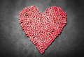 Big red heart made from little hearts - PhotoDune Item for Sale