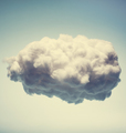 White cotton cloud on blue background. - PhotoDune Item for Sale