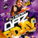Dj Bday Flyer - GraphicRiver Item for Sale