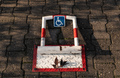 Disabled person parking space protector - PhotoDune Item for Sale