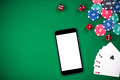 On line gaming mock up template. Casino and poker - PhotoDune Item for Sale