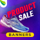 Product Sale Web Banner Set - GraphicRiver Item for Sale