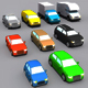 Low Poly Car Body Types Pack - 3DOcean Item for Sale