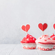 Delicious Valentine's day cupcakes - PhotoDune Item for Sale
