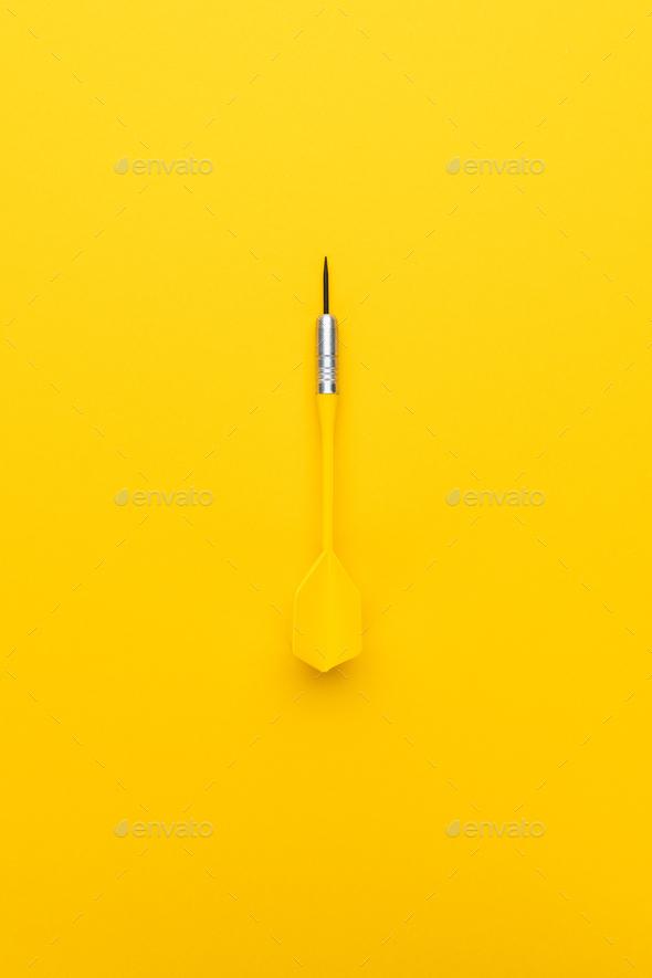 New Yellow Dart - Stock Photo - Images