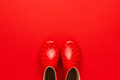 Photo of Red Gumboots - PhotoDune Item for Sale